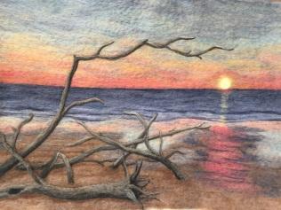 Boneyard Beach at Sunrise
