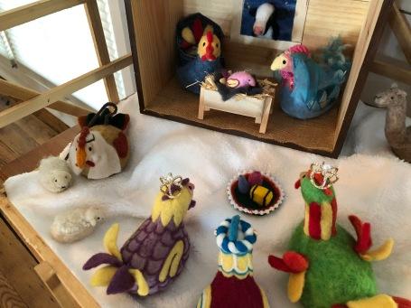Chicken Nativity