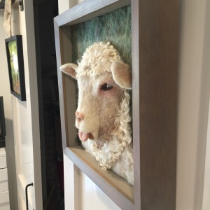lamb side view