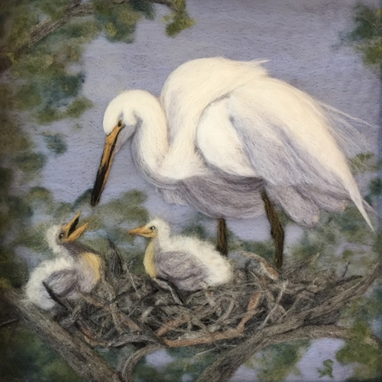 The Egret Nest