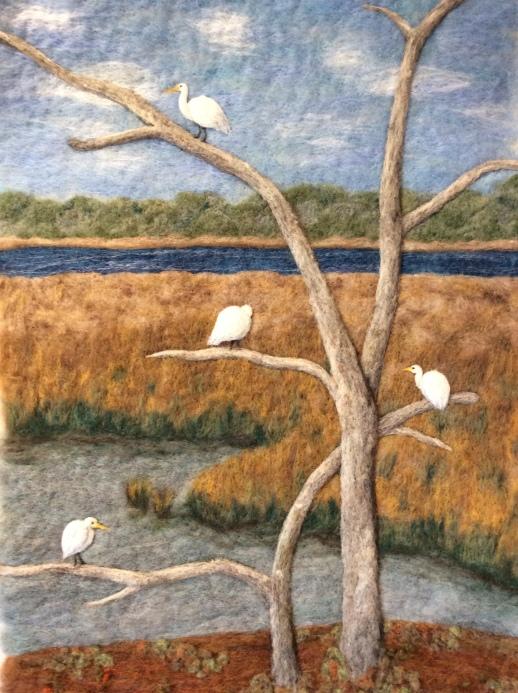 The Egret Tree