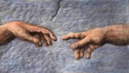 Detail of Sistine Ceiling