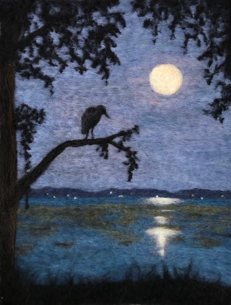 Moonrise Over Beaufort River